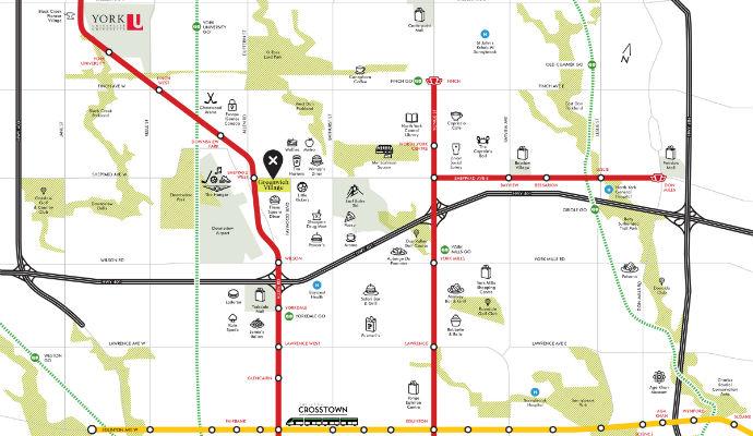 Subway Map Greenwich Village.Greenwich Village Towns In North York The Condo Store Canada